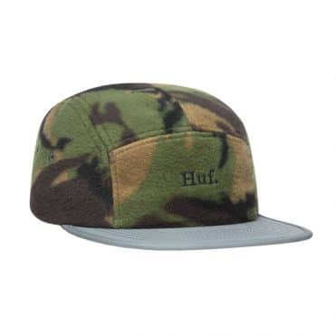 HUF Boroughs Volley Strapback Hat Tiger Camo