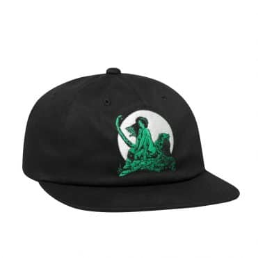 HUF Frazetta Living Legend Strapback Hat Black