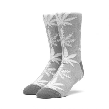 Huf Glow-Flake Plantlife Sock Heather Grey