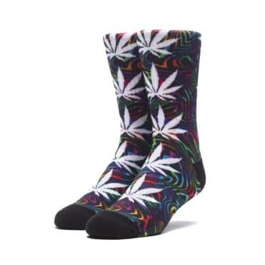 Huf Good Trip Plantlife Sock Black
