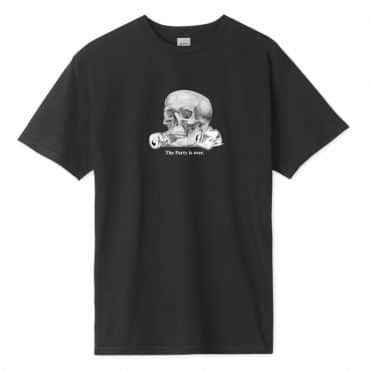 Huf Partys Over T-Shirt Black