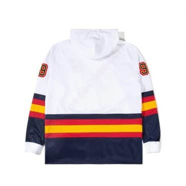 The Hundreds Greats Hooded Jersey White