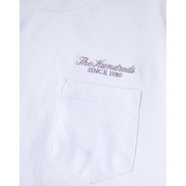 The Hundreds Rich Pocket T-Shirt White