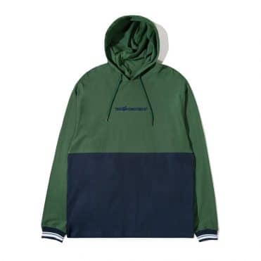 The Hundreds Sub Hooded Knit Pullover Sweater Hunter Green