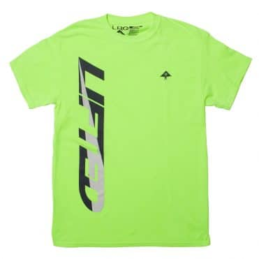 LRG Home Side T-Shirt Safety Green