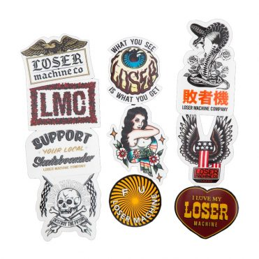 Loser Machine Stickers VI