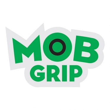 Mob Grip Clear Mylar Sticker Green Black
