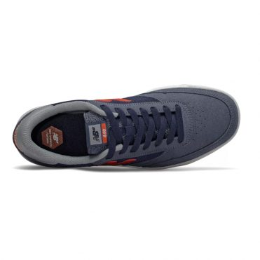 New Balance Numeric 440 Shoe Navy Grey Orange
