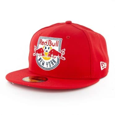 New Era 59Fifty New York Red Bull Fitted Hat Red