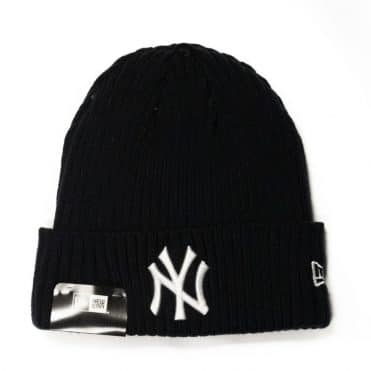 New Era New York Yankees Core Classic Knit Beanie Dark Navy
