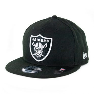 New Era 9Fifty Clear Feature Oakland Raiders Snapback Hat Black