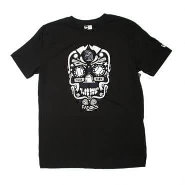 New Era San Diego Padres Sugar Skull T-Shirt Black