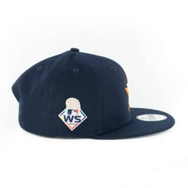 New Era Official 2019 World Series 9Fifty Houston Astros Game Snapback Hat