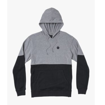 RVCA Carlisle Pullover Hooded Sweatshirt Athletic Heather