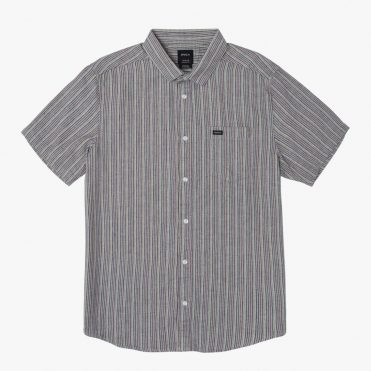 RVCA Mirage Striped Button Up Shirt