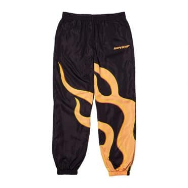 Rip N Dip Flaming Hot Track Pants Black