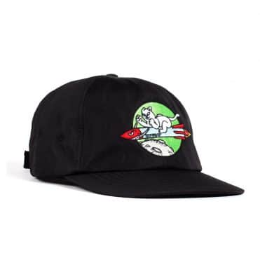 Rip N Dip Rocket Man Strapback Hat Black