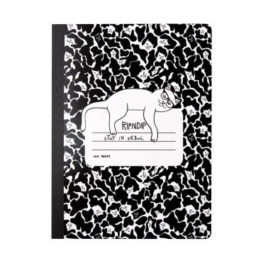 Rip N Dip Stay In Sk3wl Composition Notebook Black