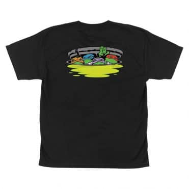 Santa Cruz TMNT Ninja Turtles T-Shirt Black