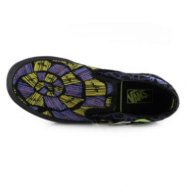 Vans x The Nightmare Before Christmas Classic Slip-On Shoe Oogie Boogie Nightmare