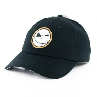 Vans x The Nightmare Before Christmas Jack Courtside Strapback Hat Jack Check Nightmare