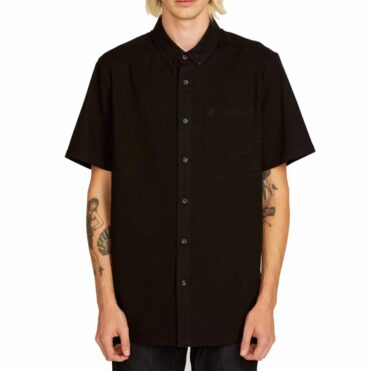 Volcom Everett Oxford Shirt New Black