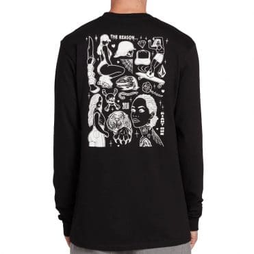 Volcom Mike Giant Long Sleeve T-Shirt Black