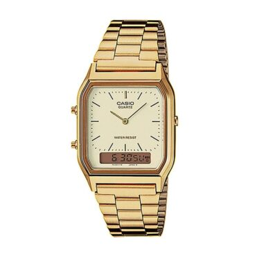Casio AQ230GA-9BVT Watch Gold