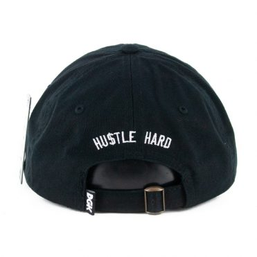 DGK Hustle Hard Strapback Hat Black