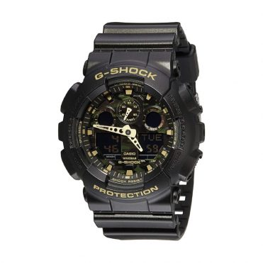 G-Shock GA-100 Watch Black Camo