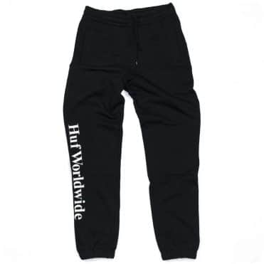 HUF Essentials Fleece Pants Black