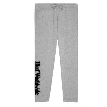 HUF Essentials Fleece Pants Grey Heather