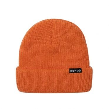 HUF Essentials Usual Beanie Russet Orange