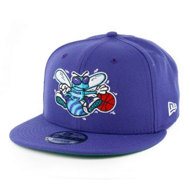 New Era 9Fifty Charlotte Hornets Basic Snapback Hat Purple