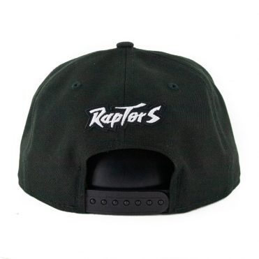 New Era 9Fifty Toronto Raptors Basic Snapback Hat Black