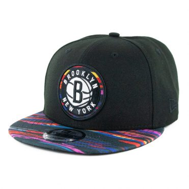 New Era 9Fifty Brooklyn Nets City Series 2019 Snapback Hat Black