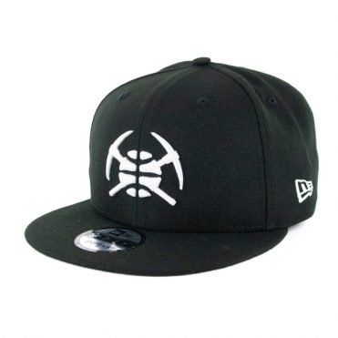 New Era 9Fifty Denver Nuggets City Series 2019 Alternate Snapback Hat Black