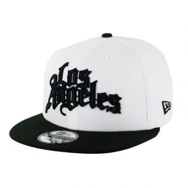 New Era 9Ffifty Los Angeles Clippers City Series 2019 Snapback Hat White