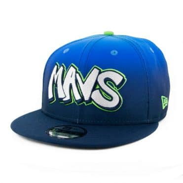 New Era 9Fifty Dallas Mavericks City Series 2019 Snapback Hat Blue