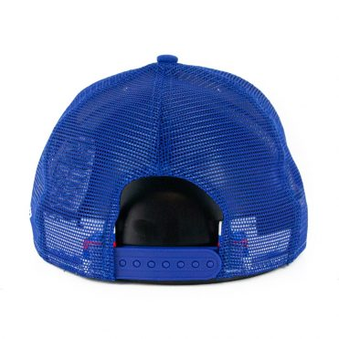New Era 9Fifty Philadelphia 76ers Stripe Snapback Hat Royal Blue White