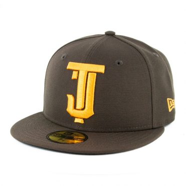 New Era 59Fifty Tijuana Toros Fitted Hat Brown Gold