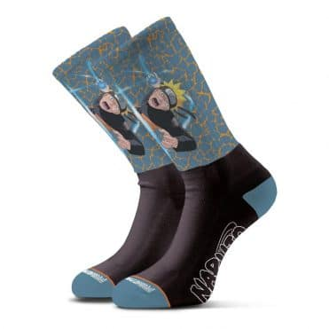 Primitive x Naruto Combat Sock Blue
