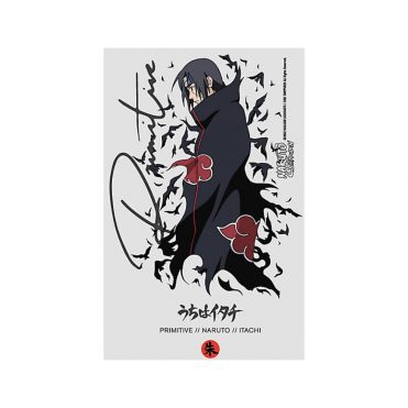 Primitive x Naruto Crows Sticker Clear