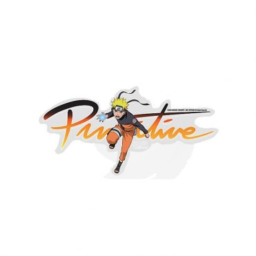 Primitive x Naruto Nuevo Sticker Clear