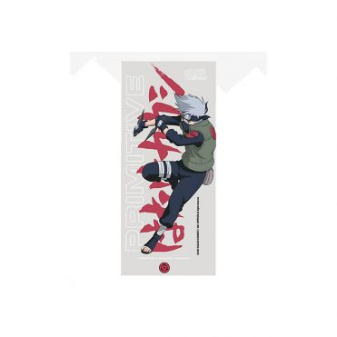 Primitive x Naruto Strike Sticker Clear