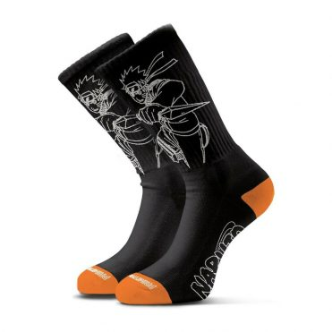 Primitive x Naruto Uzumaki Sock Black