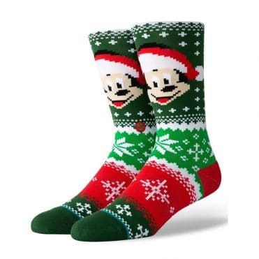 Stance Mickey Claus Sock