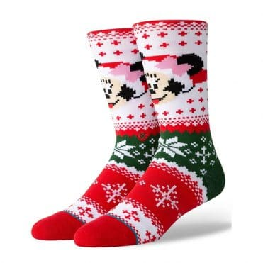 Stance Minnie Claus Sock
