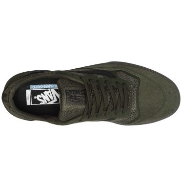 Vans Rainy Day Ave Pro Shoe Forest Night Black