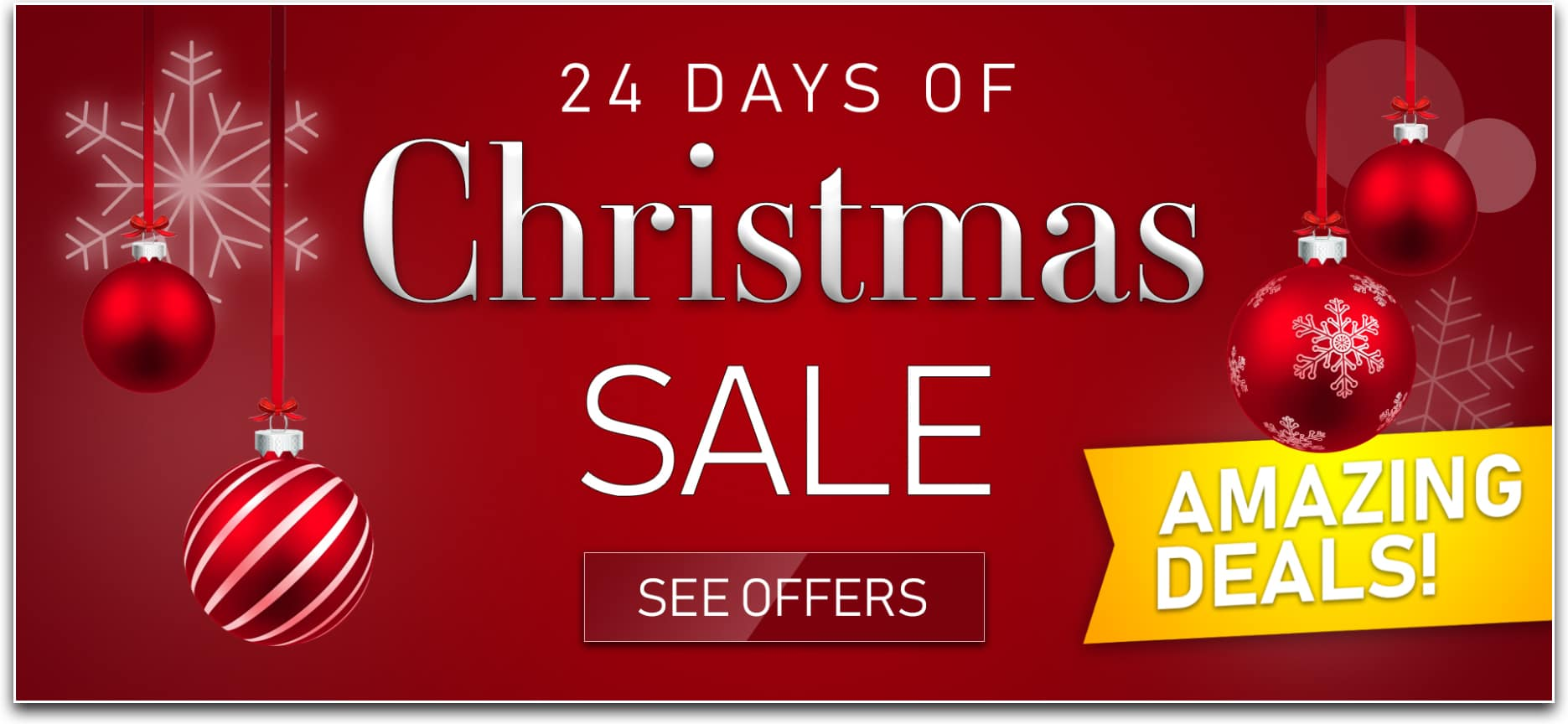 24 Days Of Christmas Sale Web Banner 01